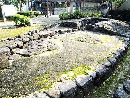 聖徳太子の住居跡 遺跡