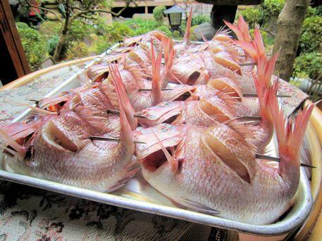 正月料理焼鯛