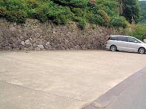 船宿寺の駐車場