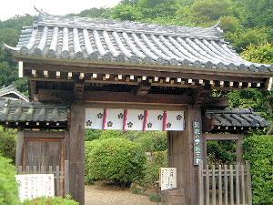 船宿寺の山門