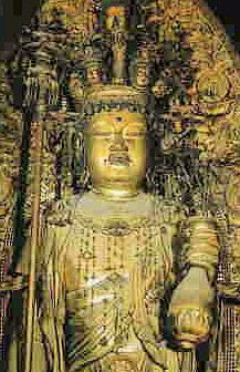 長谷寺の十一面観音菩薩立像
