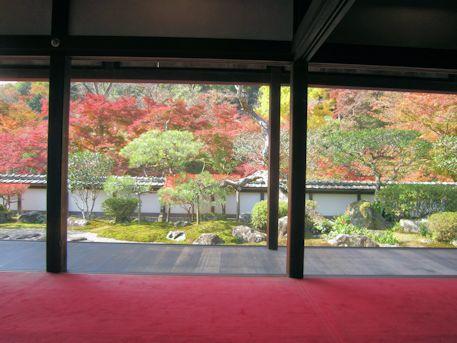 福寿院客殿の借景庭園