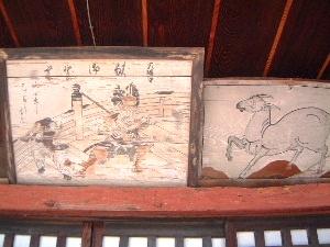 弘仁寺の絵馬