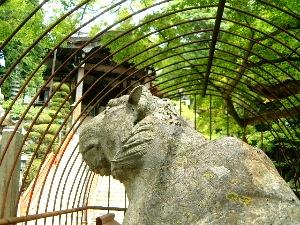 信貴山朝護孫子寺の虎