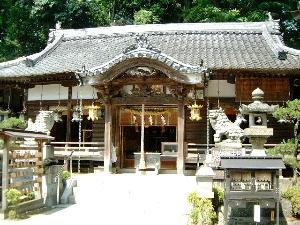 笠山荒神社拝殿