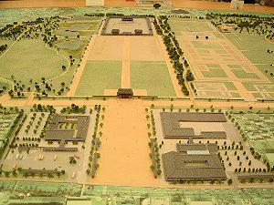 平城京の模型