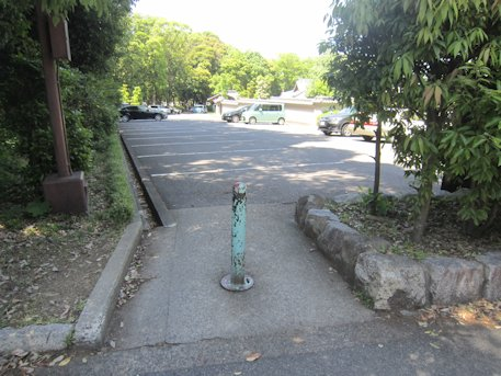橿原神宮への入口