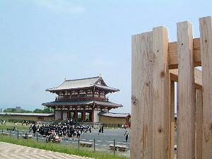 平城宮跡の朱雀門