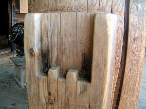 東大寺二月堂 舞台の柱
