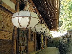 東大寺二月堂 舞台の裏