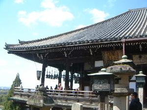 東大寺二月堂の舞台