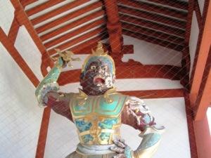 薬師寺の仁王像