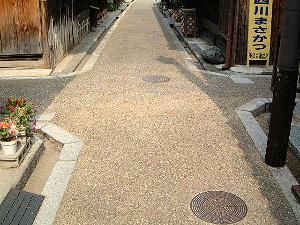 今井町の四つ辻