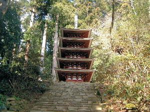 室生寺五重塔 国宝