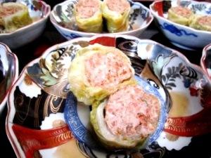 季節会席料理 大神神社の食事