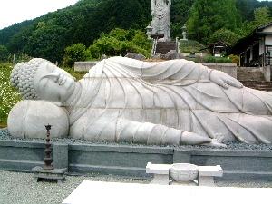 天竺渡来大涅槃石像 壺阪寺