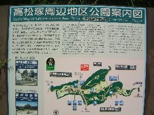 高松塚古墳の周辺地図