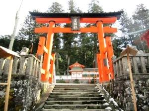 墨坂神社の鳥居