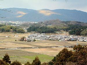 三輪山 甘樫丘展望台