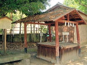 在原神社の井戸