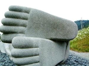 大涅槃石像 壺阪寺