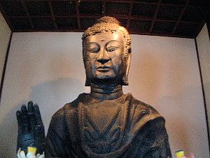飛鳥寺の釈迦如来像