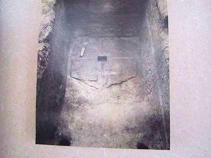 飛鳥寺の塔心礎