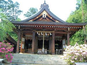 飛鳥坐神社の拝殿