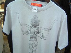 阿修羅像のTシャツ 阿修羅グッズ販売所 阿修羅人気
