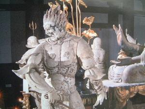 伐折羅大将 十二神将 新薬師寺