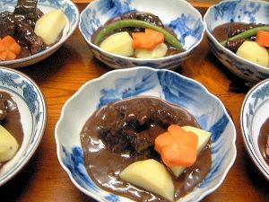 ビーフシチュー 冬の料理