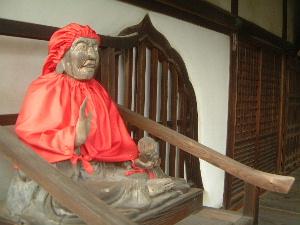 東大寺指図堂 びんずる尊者