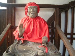 びんずる尊者 東大寺指図堂