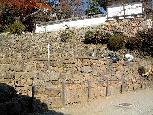 長谷寺牡丹園で働く人