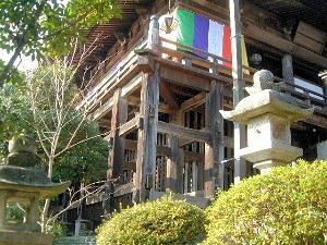 長谷寺本堂の舞台