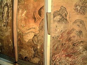 長岳寺の大地獄絵