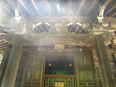 本長谷寺の銅板法華説相図