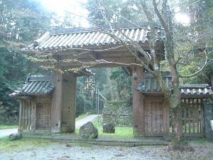 談山神社の東大門