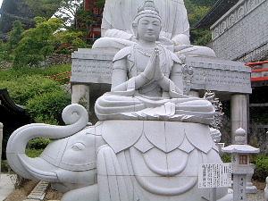 普賢菩薩 壷阪寺