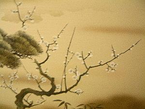 客室の襖 奈良の格安旅館