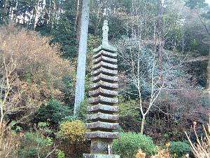 十三重石塔 岩船寺