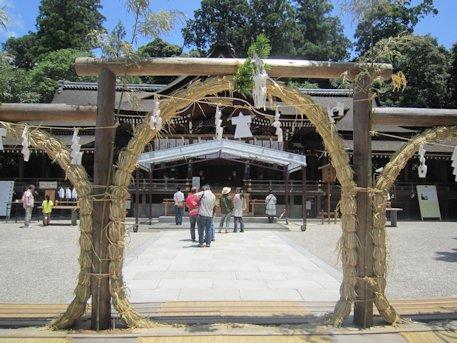 大神神社の茅の輪神事