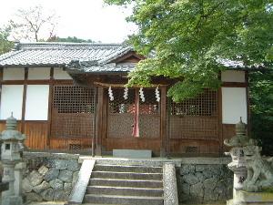 桜井市黒崎の白山神社