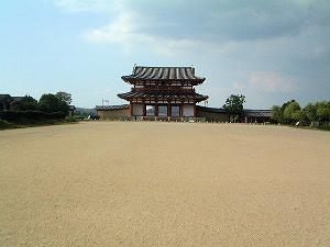 広大な平城宮跡