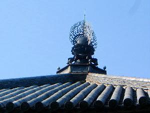 北円堂 屋根瓦