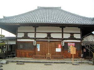 飛鳥寺の本堂