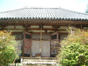不退寺の本堂