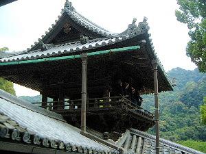 長谷寺の法螺貝 鐘楼