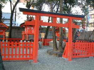率川神社 参拝