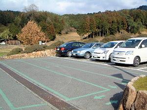 石舞台古墳の無料駐車場